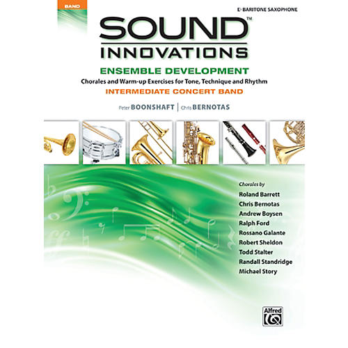 Alfred Sound Innovations Concert Band Ensemble Development E Flat Baritone Sax Bk