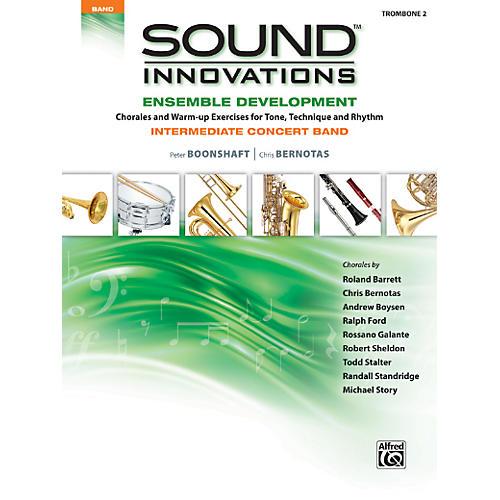 Alfred Sound Innovations Concert Band Ensemble Development Trombone 2 Book