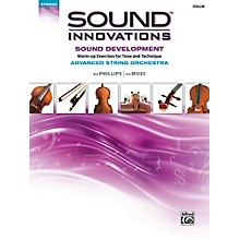 Alfred Sound Innovations String Orchestra Sound Development Advanced Violin Book