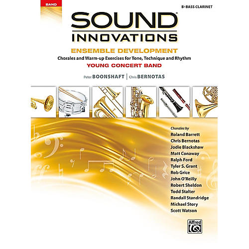 Alfred Sound Innovations for Concert Band - Ensemble Development for Young Concert Band Bass Clarinet