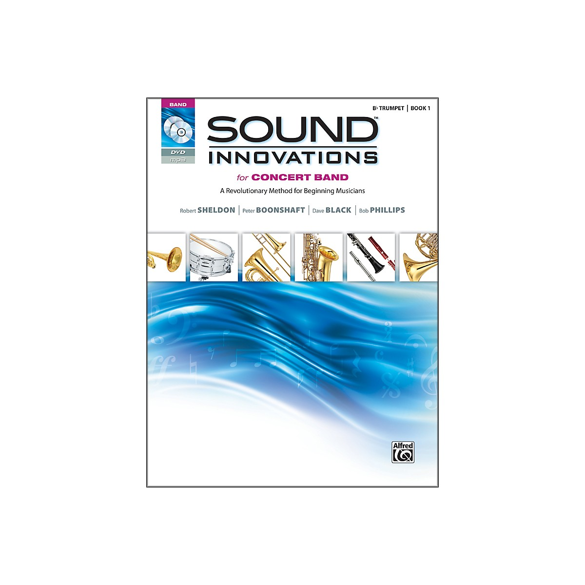 Alfred Sound Innovations for Concert Band Book 1 B-Flat Trumpet Book CD/ DVD