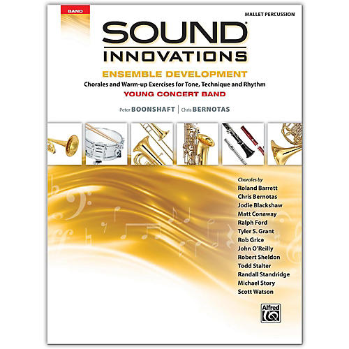 Alfred Sound Innovations for Concert Band: Ensemble Development for Young Concert Band Mallet Percussion