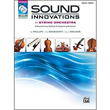 Alfred Sound Innovations for String Orchestra Book 1 Violin Book CD/ DVD
