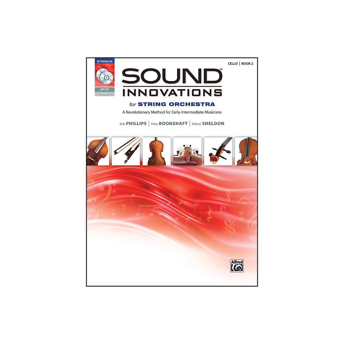 Alfred Sound Innovations for String Orchestra Book 2 Cello Book CD/DVD