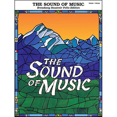 Hal Leonard Sound Of Music Broadway Souvenir Folio arranged for piano, vocal, and guitar (P/V/G)