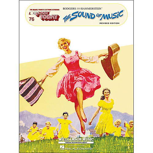 Hal Leonard Sound Of Music Revised Edition E-Z Play 76