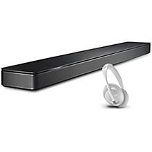 Soundbar 500 and Headphone 700 Luxe Silver