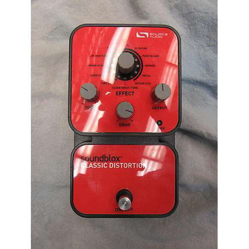 Source Audio Soundblox Classic Distortion Effect Pedal