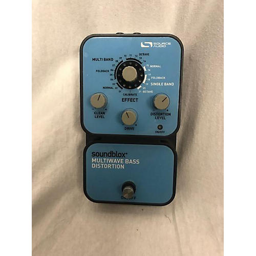 Source Audio Soundblox Multiwave Bass Distortion Effect Pedal