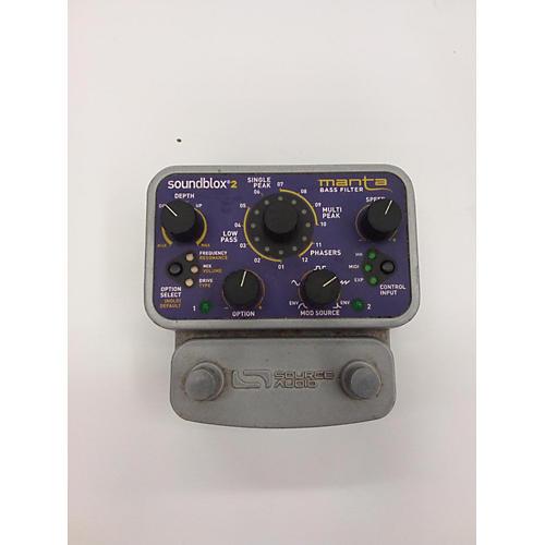 Source Audio Soundblox2 SA223 Manta Bass Filter Effect Pedal
