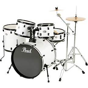 pearl soundcheck 5 piece drum set with zildjian cymbals guitar center. Black Bedroom Furniture Sets. Home Design Ideas