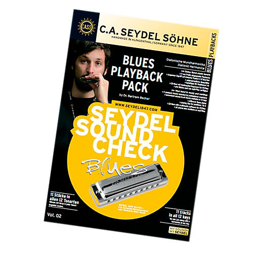 SEYDEL Soundcheck Vol. 2 - Blues PLAYBACK PACK