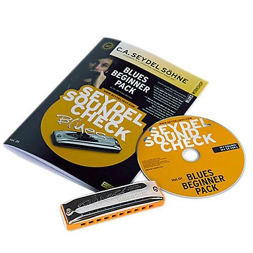 SEYDEL Soundcheck Vol.1  Blues Beginner Pack with SESSION STEEL