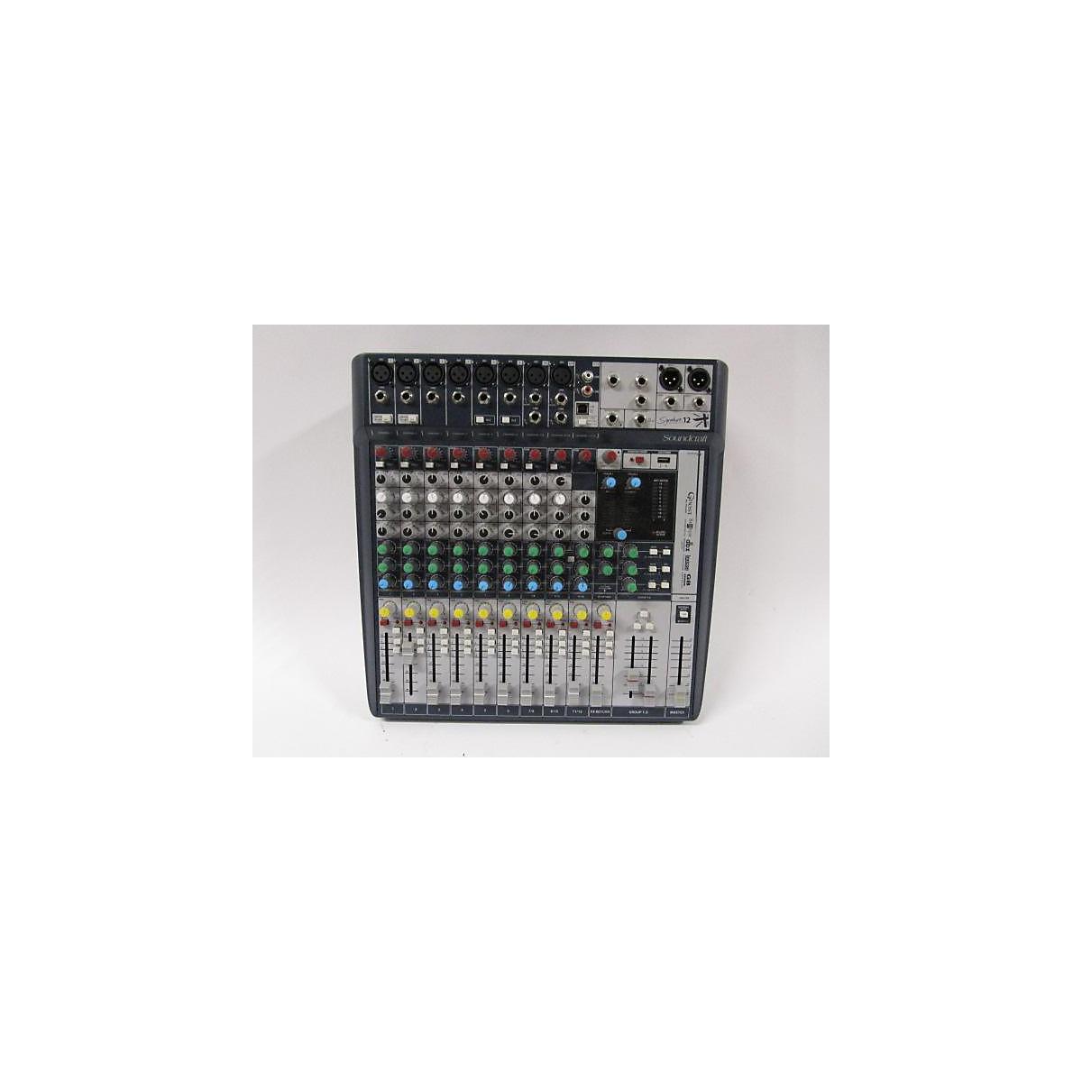 Soundcraft Soundcraft Signature 12 Analog Mixer Powered Mixer