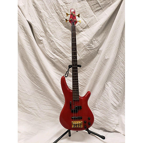 used ibanez soungear electric bass guitar fiesta red guitar center. Black Bedroom Furniture Sets. Home Design Ideas