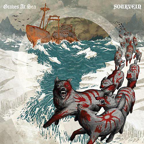 Alliance Sourvein - Graves At Sea/Sourvein Split