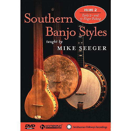 Homespun Southern Banjo Styles (DVD Two) DVD/Instructional/Folk Instrmt Series DVD