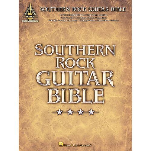 Hal Leonard Southern Rock Bible Guitar Tab Songbook