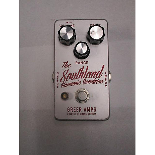 Greer Amplification Southland Harmonic Overdrive Effect Pedal