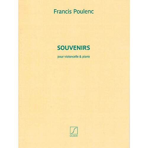 Salabert Souvenirs (for Cello and Piano) String Series Softcover