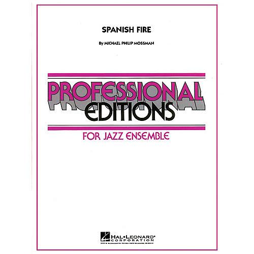 Hal Leonard Spanish Fire Jazz Band Level 5 Composed by Michael Philip Mossman