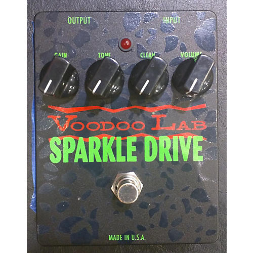 Voodoo Lab Sparkle Drive Effect Pedal