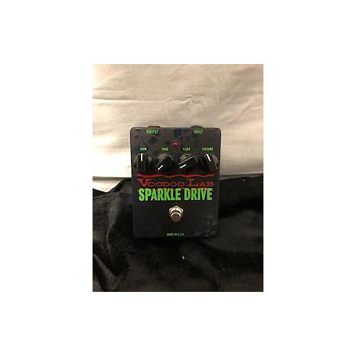 used voodoo lab sparkle drive effect pedal guitar center