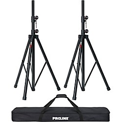 Speaker Stand 2-Pack with Carrying Bag