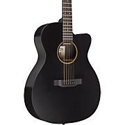 Special 000 Cutaway X Style Acoustic-Electric Guitar Black Black