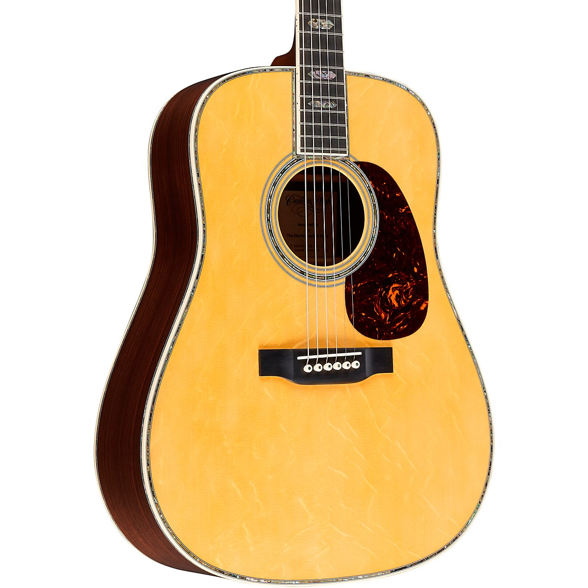 Martin Special 45 Style Englemann Bearclaw Spruce Top Dreadnought Acoustic Guitar
