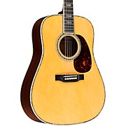 Special 45 Style Englemann Bearclaw Spruce Top Dreadnought Acoustic Guitar Natural