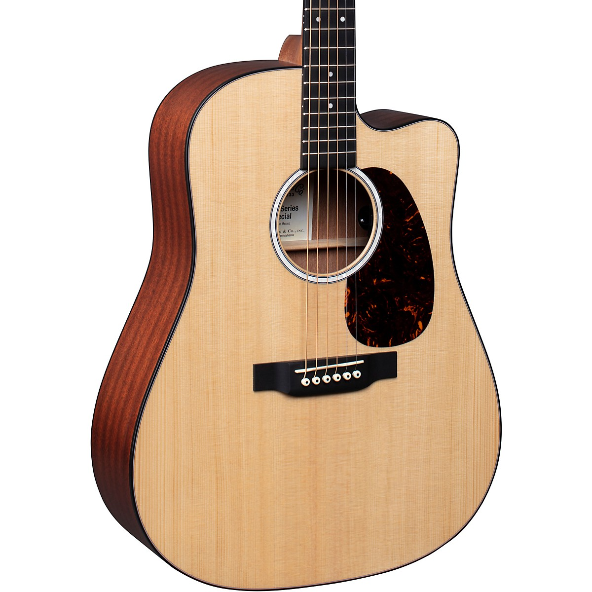Martin Special Dreadnought Cutaway 11E Road Series Style Acoustic-Electric Guitar Natural