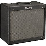 Fender Special-Edition Blues Junior IV Humboldt Hot Rod 15W 1x12 Tube Guitar Combo Amp Black Nubtex