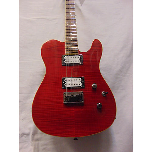 used fender special edition custom telecaster fmt hh solid body electric guitar trans red. Black Bedroom Furniture Sets. Home Design Ideas