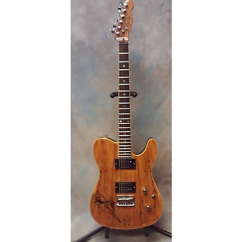 Fender Special Edition Custom Telecaster HH Spalted Maple Solid Body Electric Guitar