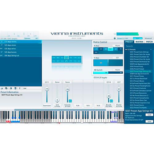 Vienna Instruments Special Edition Vol. 1 Strings Software Download