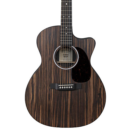 Martin Special GPC X Series Macassar Ebony Top Grand Performance Acoustic-Electric Guitar