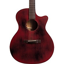 Special Grand Performance Cutaway 15ME Streetmaster Style Acoustic-Electric Guitar Level 2 Weathered Red 190839887900
