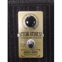 Greer Amplification Special Request Gold Effect Pedal