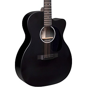 Martin Special X Series Style 000 - Cutaway Sized Acoustic-Electric Guitar Black