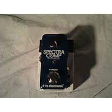 TC Electronic Spectra Comp Compressor Effect Pedal