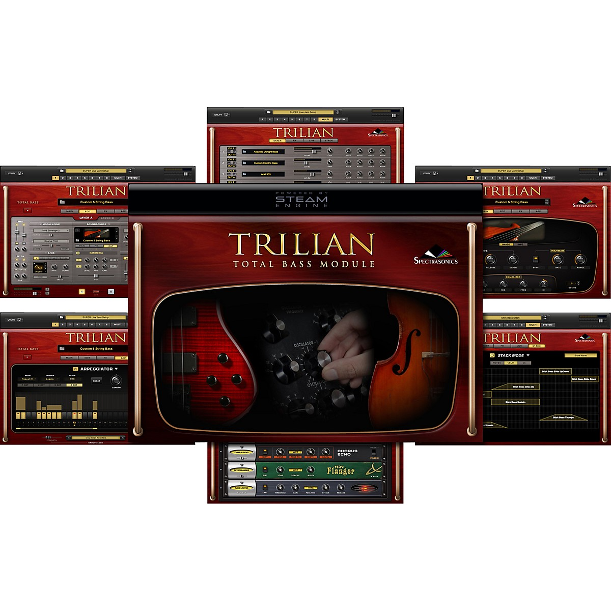 Spectrasonics Spectrasonics Trillian Total Bass Module Software
