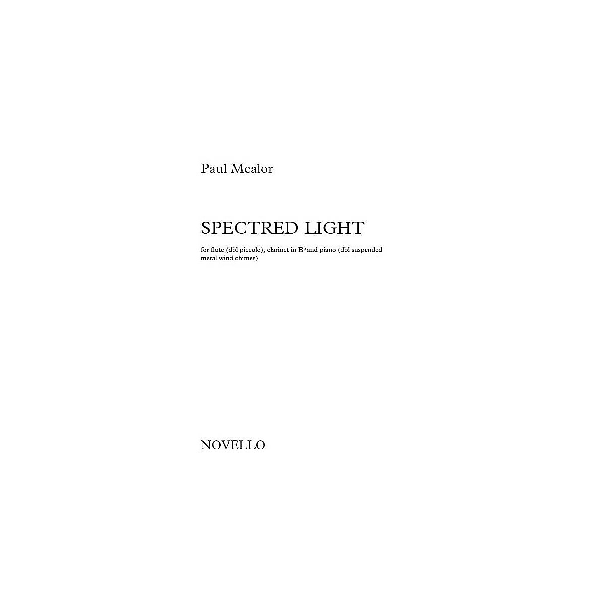 Novello Spectred Light Music Sales America Series Softcover Composed by Paul Mealor