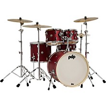 Spectrum Series 5-Piece Shell Pack with 22 in. Bass Drum Cherry Stain