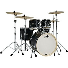 Spectrum Series 5-Piece Shell Pack with 22 in. Bass Drum Ebony Stain