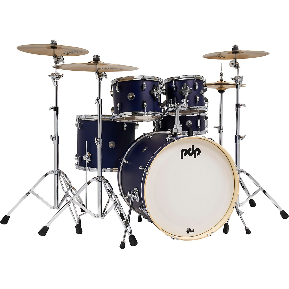 PDP by DW Spectrum Series 5-Piece Shell Pack with 22 in. Bass Drum