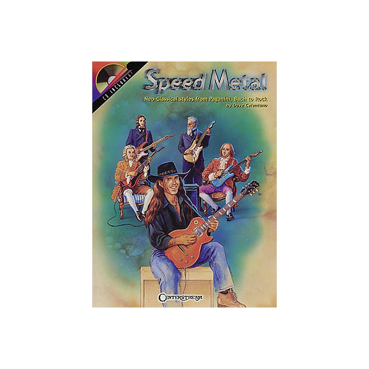 Centerstream Publishing Speed Metal Guitar Instruction (Book/CD)