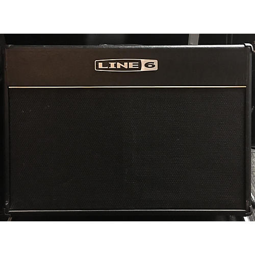 used line 6 spider 2x12 guitar cabinet guitar center. Black Bedroom Furniture Sets. Home Design Ideas