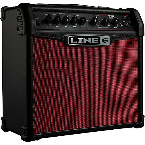 line 6 spider classic 15 15w 1x8 guitar combo amp red edition black and red guitar center. Black Bedroom Furniture Sets. Home Design Ideas