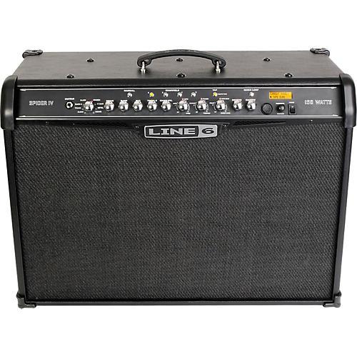 line 6 spider iv 150 150w 2x12 guitar combo amp guitar center